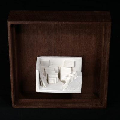 Hh  --  7x4x4cm  --  caja 16x16x7cm  --  ceraaamica y madera