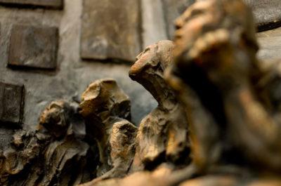 Representaciones detalle -- Ceraaamica, oooleo y madera
