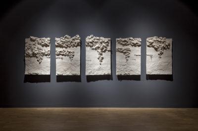Fondos abisales -- Instalaciooon -- 500 x 110 x 6 cm -- 2015