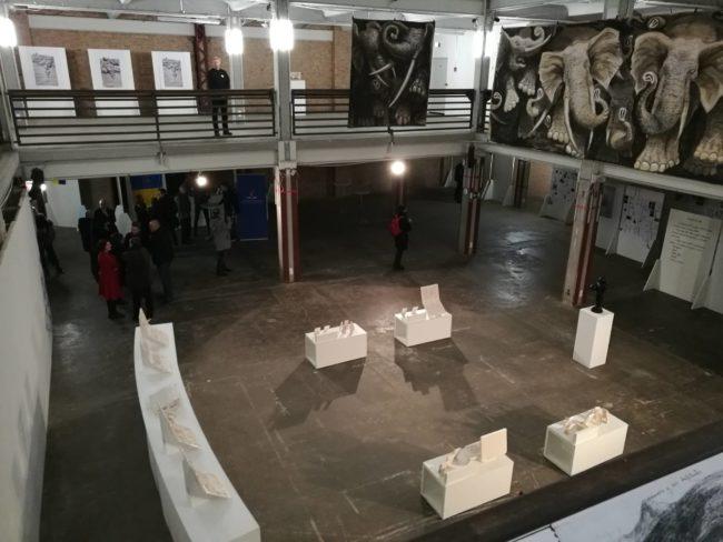 Exposición individual en la Kuehlhaus, Berlín