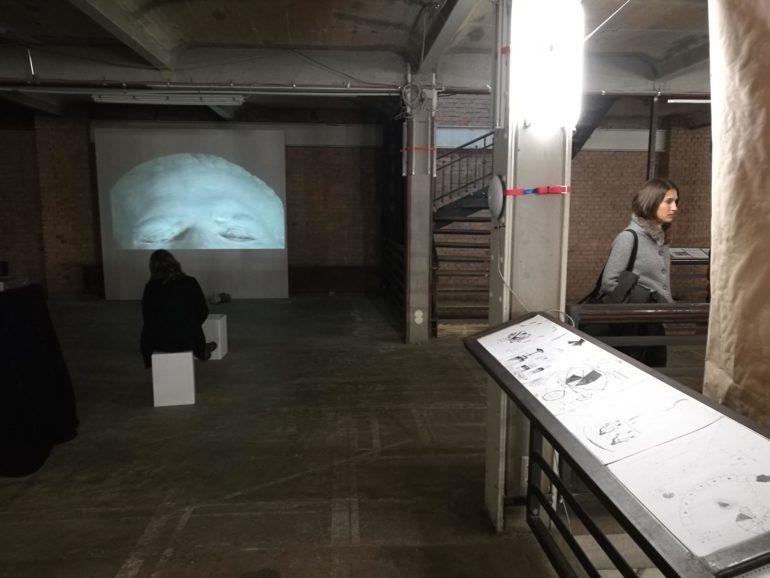 Vista general exposición de Tahiche Díaz en Berlín